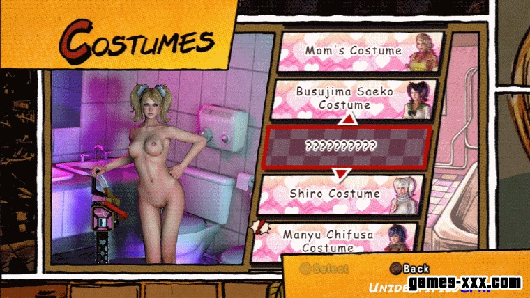 Nude Juliet Starling DLC