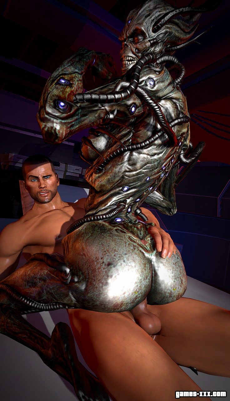 Mass effect XXX porn movies
