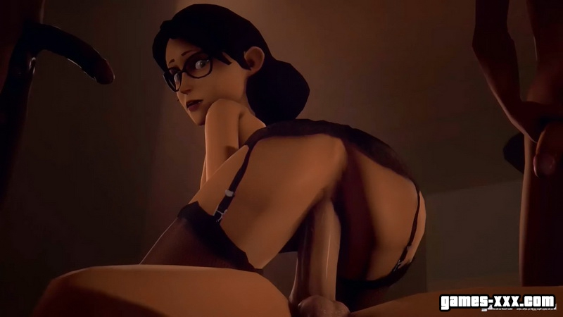 Miss Pauling Sex (Team Fortress 2)