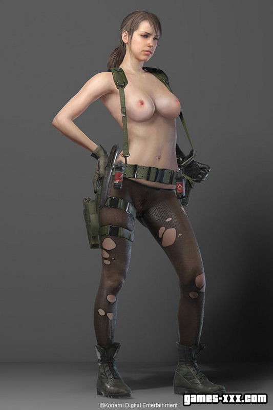 Quiet Голая (Metal Gear Solid 5)