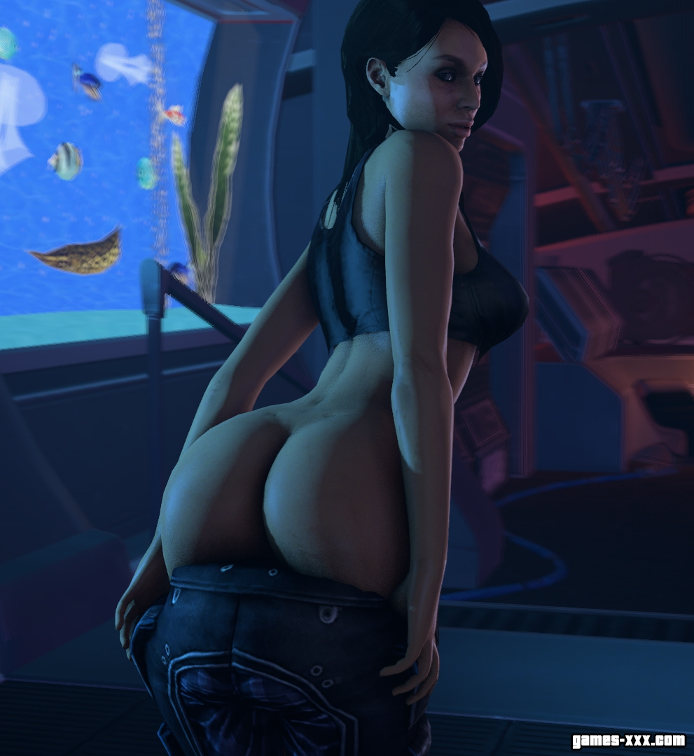 3d miranda lawson hot dancing mass effect 3