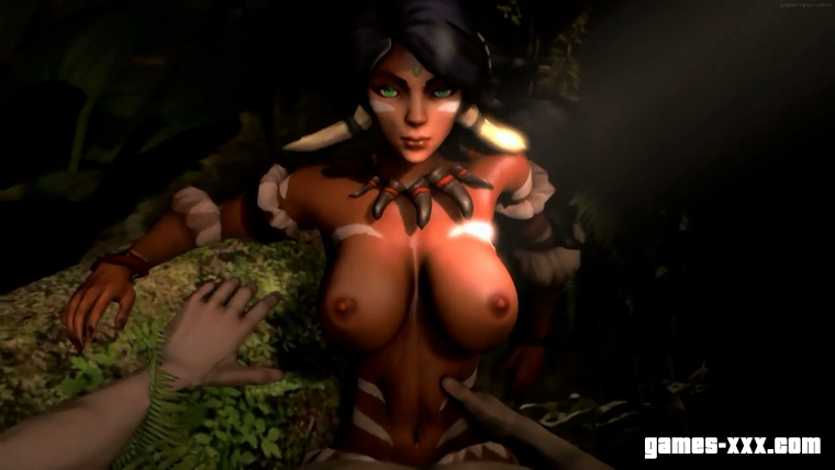 Nidalee POV Sex (League of Legends)