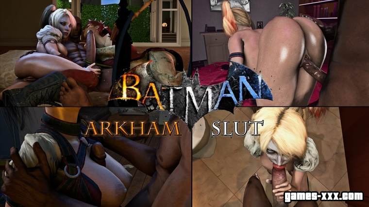 Batman: Arkham Knight Порно (Arkham Slut)