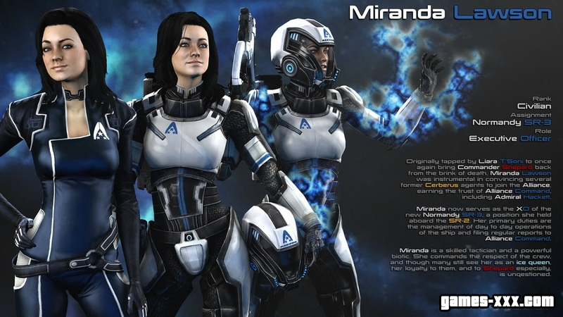 ������� ������ / Miranda Lawson (Mass Effect 1,2,3)