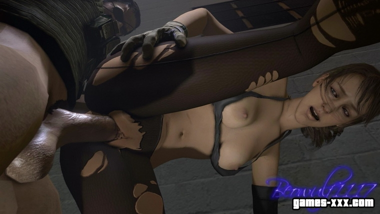 Quiet Sex (Metal Gear Solid V: The Phantom Pain)