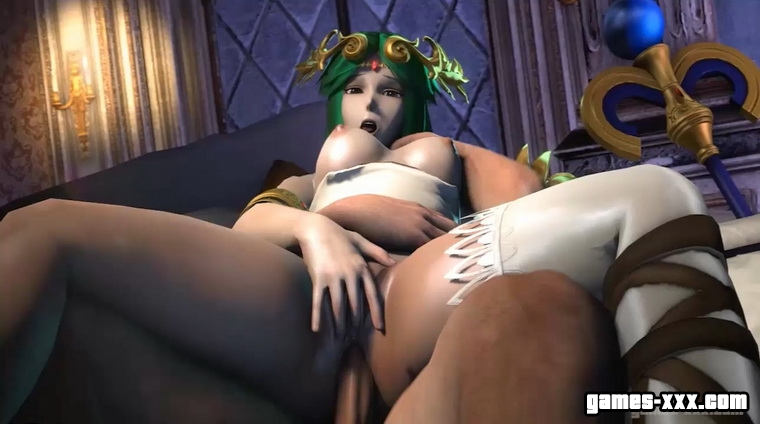 A Bedroom Goddess - Lady Palutena (Supersmesh WIIU)