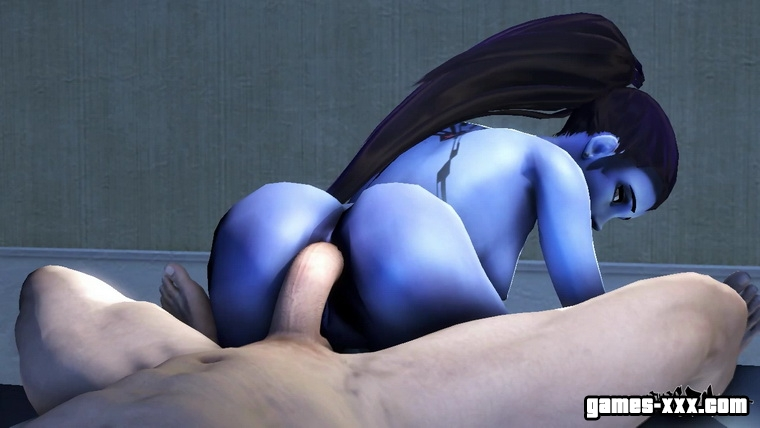 Секс с Widowmaker
