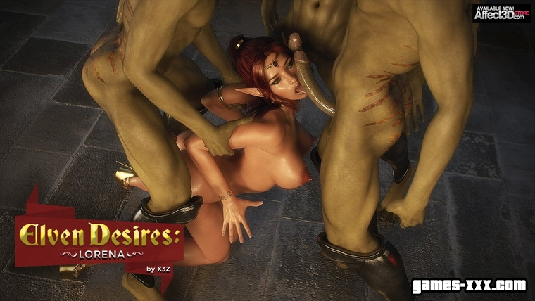 Elven Desires - Lost Innocence Ruby Part 2