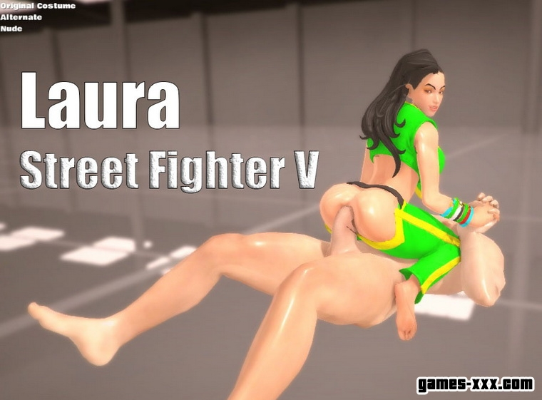 "Laura Ride ""Street Fighter V"" (2016) English"