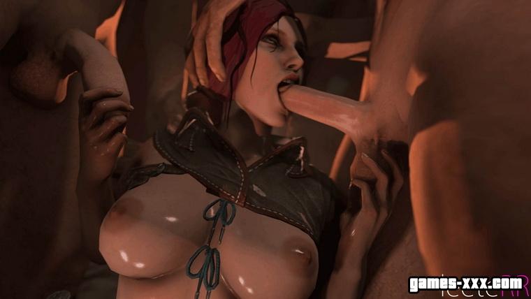 Порно фото ведьмак 3