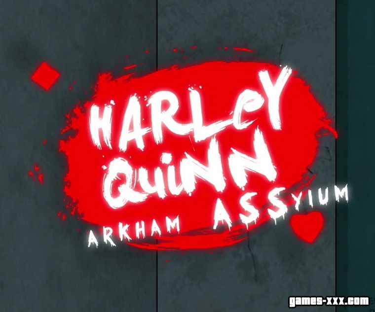 Harley Quinn - Arkham ASSylum (2017) English